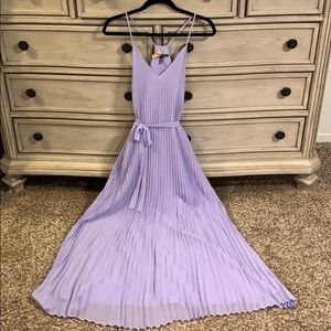 Victoria Secret pleated maxi dress